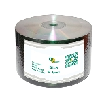 CD Solutions Valueline White Inkjet 6X BD-R, 600 per Box