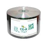 CD Solutions Valueline Silver Inkjet CD-R, 600 per Box