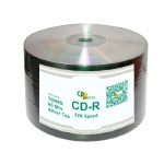CD Solutions Valueline Silver Lacquer CD-R, 600 per Box