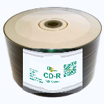 CD Solutions Valueline White Inkjet CD-R, 600 per Box