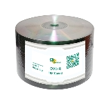 CD Solutions Valueline Silver Lacquer DVD-R, 600 per Box