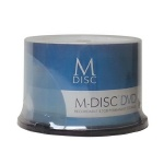 M-DISC Silver Lacquer Archival DVD+R, 100 per Box