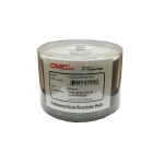 CMC Pro WaterShield White Inkjet CD-R, Glossy, 600 Count Box
