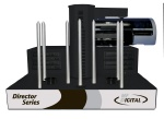 MF Digital Director 4-Drive CD/DVD Publisher, PicoJet-2, 300-Disc Capacity