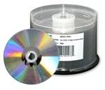Microboards Dual Layer DVD+R Media, 8X, Silver Lacquer, 300 Count  Box