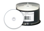Microboards Dual Layer DVD+R Media, 8X, White Thermal, 300 Count  Box