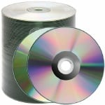 Spin-X Silver Clear Coat Thermal Hub Printable CD-R, 500 per Box