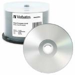 Verbatim DataLifePlus Silver Inkjet Hub Printable 52X CD-R, 200 per Box