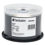 Verbatim Silver Thermal Lacquer 8X DVD-R, 200 per Box
