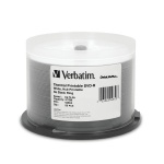 Verbatim 8X White Thermal DVD-R, 200 per Box