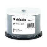 Verbatim DataLifePlus Silver Inkjet Printable 52X CD-R, 200 per Box