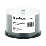 Verbatim DataLifePlus Crystal Thermal Printable 52X CD-R, 200 per Box