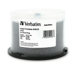 Verbatim White Inkjet Printable 16X DVD-R, 200 per Box