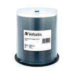 Verbatim White Thermal Printable 52X CD-R, 400 per Box