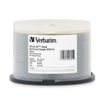 Verbatim Archival Grade Gold 8X DVD-R, 200 per Box