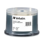 Verbatim UltraLife Gold Archival Grade 52X CD-R, 200 per Box