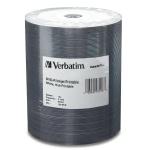 Verbatim White Inkjet 16X DVD-R, Hub Printable, 600 Count Box
