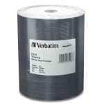Verbatim DataLifePlus White Thermal Hub Printable 52X CD-R, 600 per Box