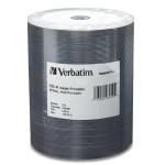 Verbatim DataLifePlus White Inkjet Hub Printable 52X CD-R, 600 per Box