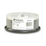 Verbatim 50GB BD-R, Dual Layer, 6x, White Thermal, Hub Printable, 150 per Carton
