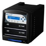 Vinpower Digital SharkBlu SATA BDXL Blu-ray/DVD/CD Tower Duplicator, 2-Target