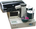 Zeus 2-Drive CD/DVD Publisher, SpeedJet Printer, 220-Disc