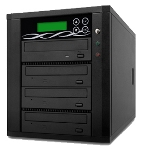 SpartanPro SATA DVD/CD Duplicator 1 to 3 Targets