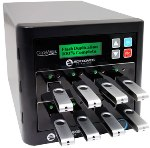 CopyWriter USB Flash Duplicator, 1 Reader Port and 7 Recorder Ports