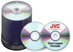JVC Taiyo Yuden 8X DVD+R, Silver Thermal Lacquer, 600 Count Box