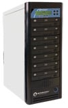 Microboards Networkable CopyWriter Pro 7-Drive Blu-Ray Tower Duplicator