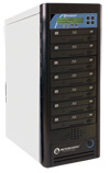 Microboards Networkable CopyWriter Pro 10-Drive Blu-Ray Tower Duplicator