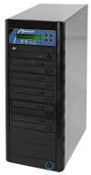 Microboards Networkable CopyWriter Pro 5-Drive CD/DVD Tower Duplicator