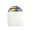 "White Paperboard Disc Sleeve, 5""x5"", 1000 per Box"