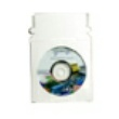"Paperboard CD Sleeve with Self Seal Flap and Window, 5"" x 5"", 500 per Box"