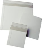 CDS-12PS Self Seal Mailers, White, 12.25 x 9.75 Inch, 1000 Count Box