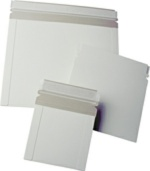 CDS-8PS Self Seal Mailers, White, 8 x 6 Inch, 100 Count Box