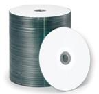 Primera TuffCoat Plus CD-R, White Inkjet Printable, 100-Pack