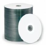 Primera TuffCoat Plus CD-R, White Inkjet Printable, 600 Count Box