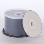Primera TuffCoat Extreme CD-R Media, 50-Disc Spindle, White Inkjet